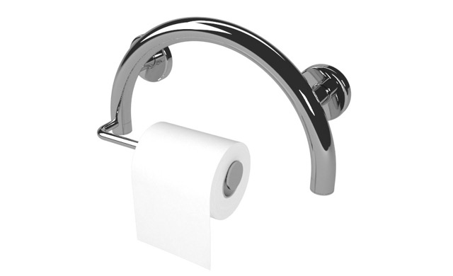 Toilet Paper Holder Semisphere Grab Bar | Life Line